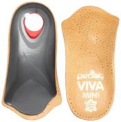 Pedag Viva Mini Orthotic with Semi-Rigid Arch Support, Metatarsal & Heel Pad, Leather
