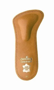 Pedag 142 Comfort 3/4 Leather Orthotic with Supportive Metatarsal Pad and Heel Cushion, Tan