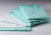 NorthShore Premium Green Super-Absorbent Underpads, Ultra Large Size 36 x 36, Case/60