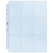 Ultra Pro 9 Pocket Silver Pages 1 pc
