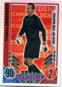 Match Attax Euro 2012 Thomas Sorensen Man Of The Match