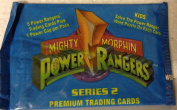 1994 Mighty Morphin Power Rangers Series 2 Trading Cards Unopened Pack (5 Power Ranger Cards Per Pack + 1 Power Rangers Cap!) - Classic cards from this wildly popular show!!