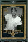 2001 SP Legendary Cuts #20 Billy Williams Baseball Card - Mint Condition - In Protective Display Case