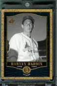2001 SP Legendary Cuts #14 Harvey Haddix Baseball Card - Mint Condition - In Protective Display Case