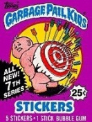 Garbage Pail Kids Vintage Trading Cards/Stickers Series 7 Unopened Pack