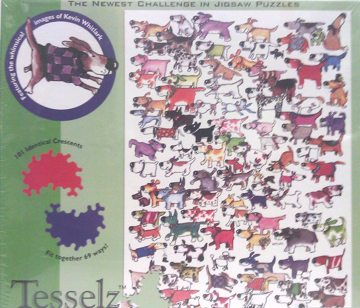 Tesselz jigsaw puzzle dogs by i project - Shop Online for