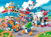 Clementoni 25410.1 Floor Puzzle 40 Pieces 'Mickey Mouse at the Airport'