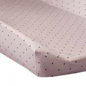 Go Mama Pink & Chocolate Polka Dots Changing Cover