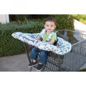 Eddie Bauer Clean Seat High Chair and Shopping Cart Cover