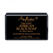 SheaMoisture African Black Soap Face & Body Bar - 3.5 oz