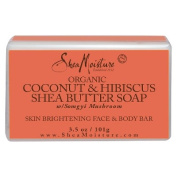 SheaMoisture Coconut & Hibiscus Face & Body Bar - 3.5 oz