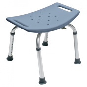 Lumex 7931RB-1 Platinum Collection Bath Seat without Backrest, Steel Blue, Retail Packaging
