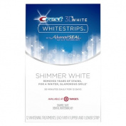 Target Exclusive Crest 3D Whitestrips Shimmer White - 12 Treatments
