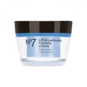 Boots No7 Lift & Luminate Night Cream - 1.69 oz