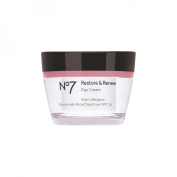 BOOTS No7 Restore & Renew Day Cream (SPF15) - 1.6 US Fl 0z