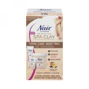 Nair Spa Clay Trio Body Hair Removal Treatment