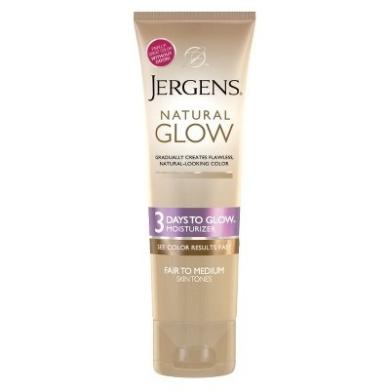 Jergens Natural Glow Moisturizer 3 Days to Glow Moisturizer -  4 oz (Fair/Medium)