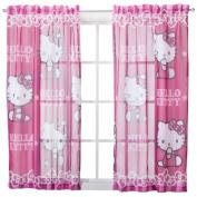 "Sanrio Hello Kitty Window Sheer - 42x63"""