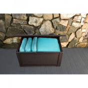 Rubbermaid® Patio Chic(TM) Storage Bench Deck Box