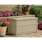 Suncast Deck Box Taupe - 50 Gallon