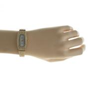 Peugeot Women's Crystal Encrusted Bracelet Watch - Gold