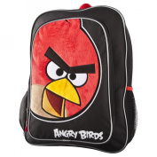 Angry Birds Face Backpack - Black