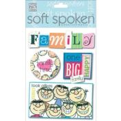 Me & My Big Ideas SS-129 Soft Spoken Themed Embellishments