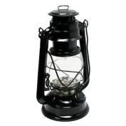 Gerson 41438 - 24cm x 16cm Black Metal 15 LED Hurricane Lantern