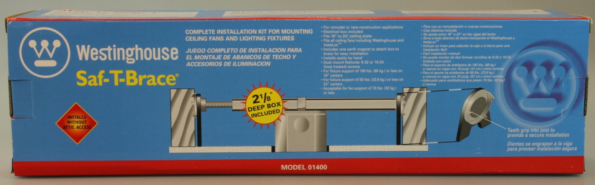 Install Ceiling Fan Box Without Attic Access - Ceiling Fans Ideas