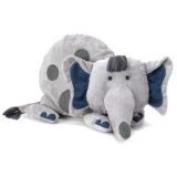 Jellycat - Small Cushkin Elephant Soft Toy - Baby Comforter