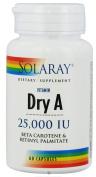 Emulsified Dry Vitamin A 25,000 IU - 60 - Capsule