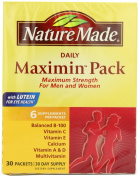 maximin Pack, Multivitamin and Mineral, Daily, 30 Packets, 6 Supplements Per Packet