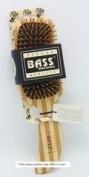 Brush - Semi S Shaped Wood Handle & Wood Bristles - 1 - Brush