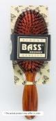 Bass Oval Cushion Boar/Nylon Black Salon Brush