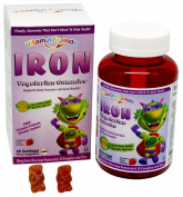 Vitamin Friends - Iron Vegetarian Grape Flavour - 60 Gummies