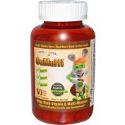Vitamin Friends GuMulti Mega Multi-Vitamin and Multi-Minerals Grape -- 60 Grape Pectin Bears