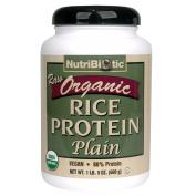 Organic Rice Protein Plain - 620ml - Powder