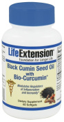 Life Extension - Black Cumin Seed Oil with Bio-Curcumin - 60 Softgels
