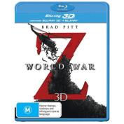 World War Z 3D [Blu-ray 3D] [Blu-ray] [Blu-ray] [Region 4] [Blu-ray]