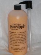 Philosophy Orange Pineapple Smoothie 950ml Shampoo Shower Gel and Bubble Bath All in One