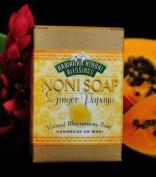 Handmade Noni Soap - Ginger Papaya - 120ml Bar