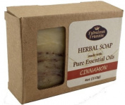 Cinnamon - Herbal Soap made with Pure Essential Oils 120ml
