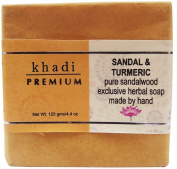Khadi Premium Sandal & Turmeric Bath Soap 125g