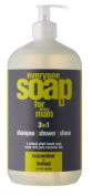 Eo Products Everyone Soap For Men, Cucumber And Lemon, 950ml