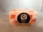 Amish Edna Lucille Fresh Peach Handmade Soap 210ml