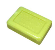 100 Gramme Bar of Olive Oil Based Soap, Lemon Verbena Scented