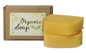 Jensan Lavender Orange Natural Organic Soap with Shea Butter and Essential Oils