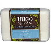 Hugo Nautrals Handcrafted Bar Soap, Unscented, 120ml
