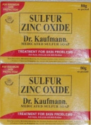 Lot of 2 Dr. Kaufmann Medicated Sulphur Soap
