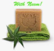 "Neem Oil ~ Karanja ~ Lemon Grass ~Flax Seed Soap ""White Linen"""